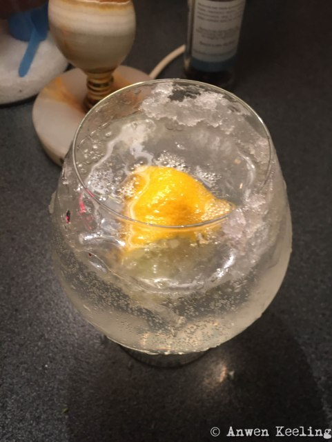 The Best Snowball vodka tonic you will ever taste!
