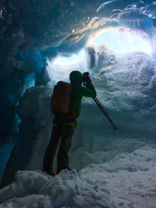 Just in the entry of the Ice cave