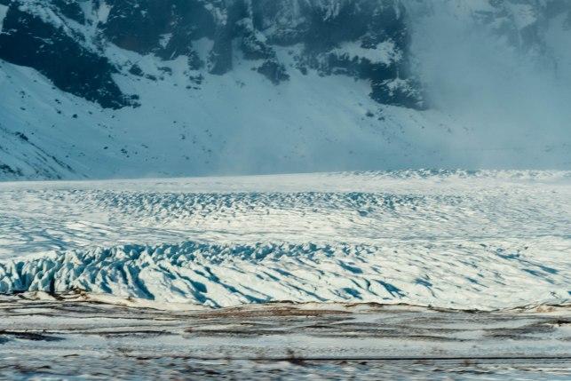 the vast glacial tongue